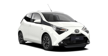 toyota aygo evince car rental new