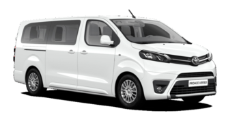 toyota proace evince car rental new